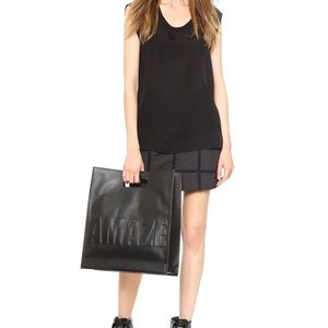 3.1 Philip Lim Totes Amaze Cut Out Leather Tote